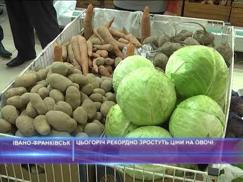 Цьогоріч рекордно зростуть ціни на овочі