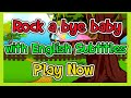 Rock a bye baby with English Subtitles Nursery Rhymes amp Songs in HD