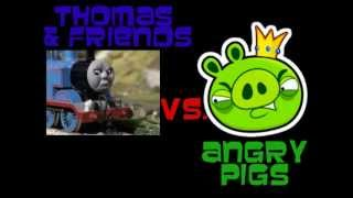 Thomas Trains vs Angry Birds