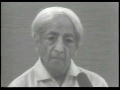 J. Krishnamurti - Saanen 1977 - Public Discussion 1 - What it means to be totally aware