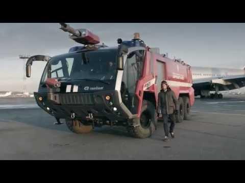 Ferrari против пожарной машины. Машины, на которых вы никогда не прокатитесь. Эпизод №3