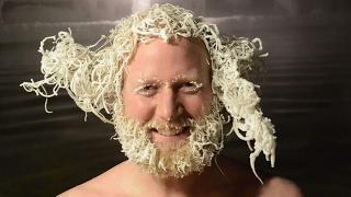 لأول مرة.. كندا تشهد مسابقة غريبة لتجميد الشعر