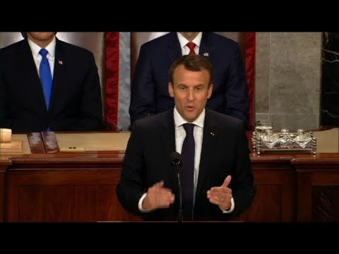 France's Macron urges US to help 'reinvent multilateralism'