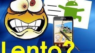 Móvil con Android se pone lento,Poca bateria? SOLUCIÓN EN RENDIMIENTO! :3