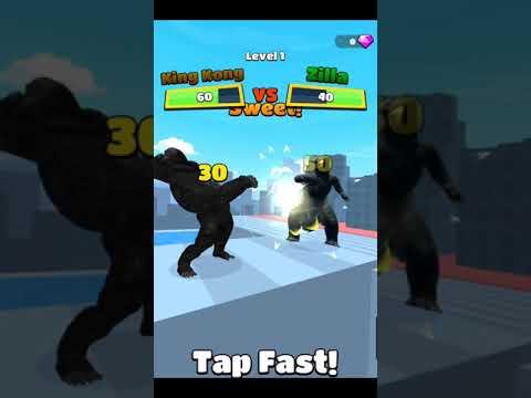 Kaiju Run All Levels Gameplay Part 1