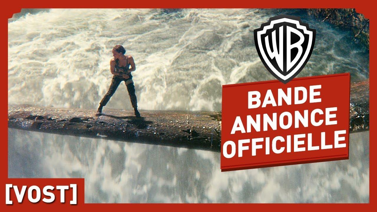 Tomb Raider - Bande Annonce Officielle 3 (VOST) - Alicia Vikander