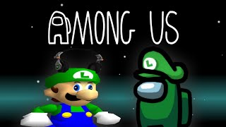 Luigi Plays AMONG US but if I get IMPOSTOR the video ENDSSS
