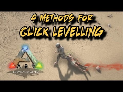 4 Methods to quick level in Ark Survival Evolved