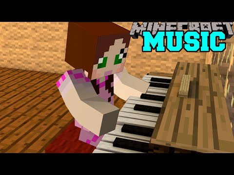 Minecraft: MUSIC CRAFT (PIANOS, GUITARS, DRUMS, & MORE INSTRUMENTS!) Mod Showcase