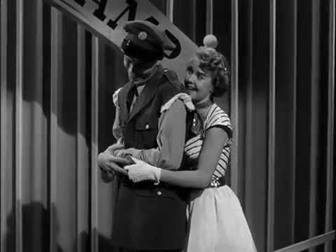 Mona Freeman & Jerry Lewis  I Can't Resist a Boy in a Uniform