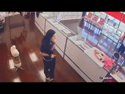 Thieves tie up clerk and steal $8000 worth of hair extensions