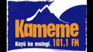 Kameme Kikuyu Funny moments on radio