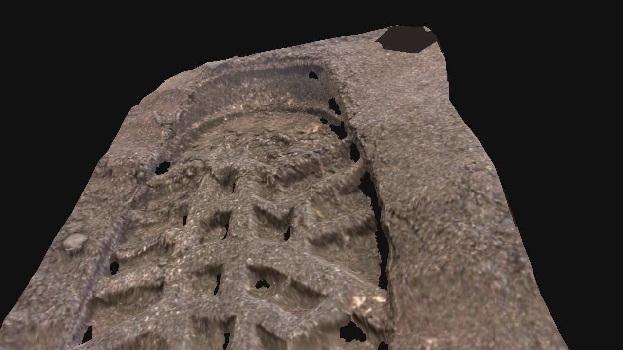 Photogrammetry Research In Forensic Testing Of Retrieval Of Footwear Impressions Top Soil Youtube