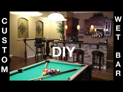 BUILDING OUR DREAM HOME: DECOR & DESIGN IDEAS || QUICK DIY TO LIGHT UP YOUR WET BAR