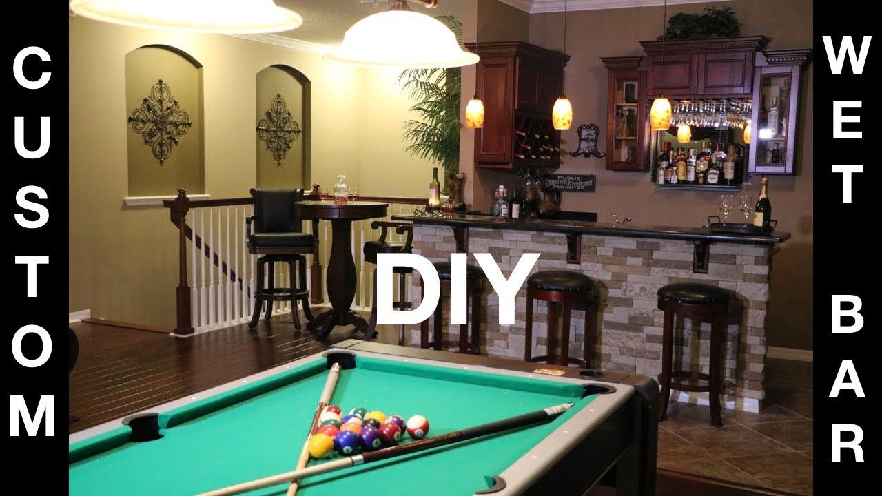 Building our dream home decor design ideas quick diy for Quick home bar design ideas