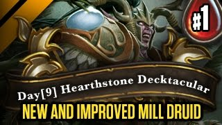 Day[9] HearthStone Decktacular #99 - New and improved Mill Druid P1