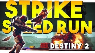 THE 6 MINUTE STRIKE - Lake of Shadows Strike Speedrun - Destiny 2
