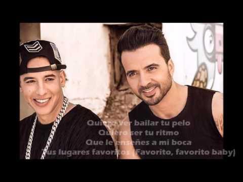 Despacito - Luis Fonsi ft Daddy Yankee LETRA