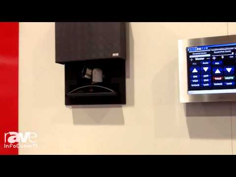 InfoComm 2014: Arthur Holm Demos the Dynamic Vision Lift System for Video Conferencing Cameras