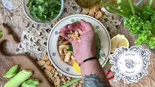 Рецепт салата из глубоководного кальмара и мидий от Магазина Морской винегрет