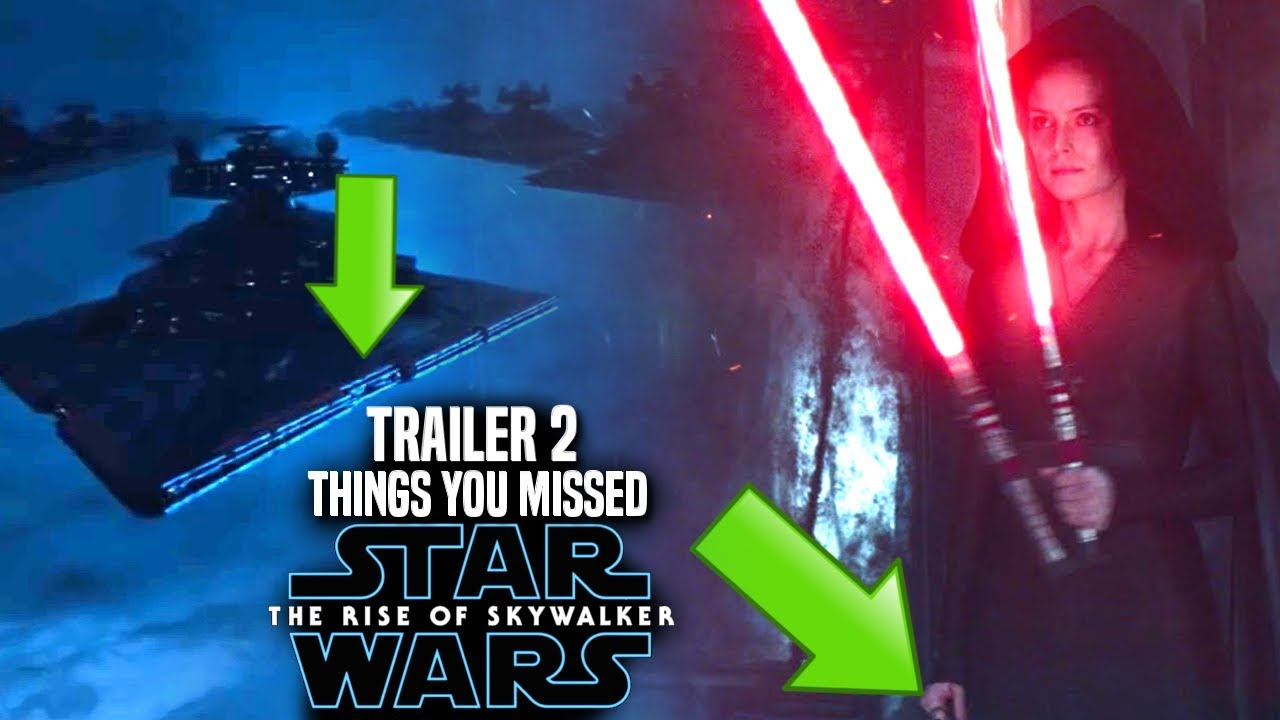 The Rise Of Skywalker Trailer 2 Things You Missed Star Wars Episode 9 Trailer 2 Breakdown Youtube