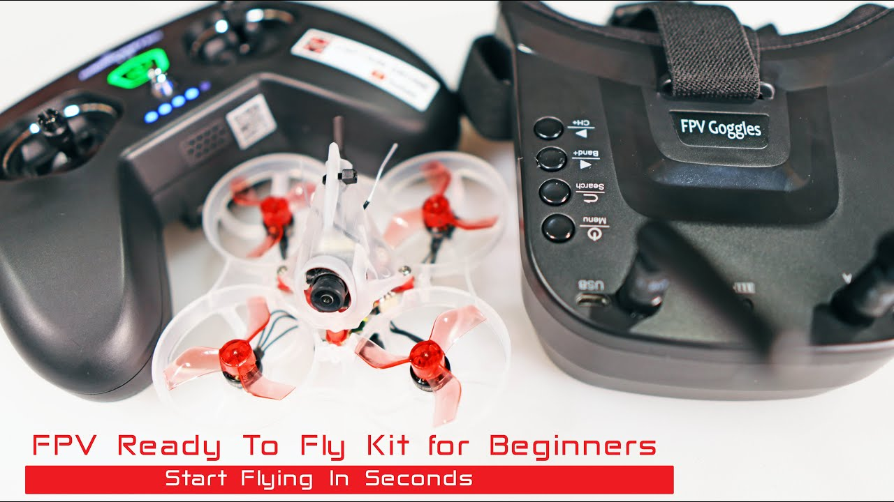 FPV Drone Kit for Beginners - Everything You Need - HGLRC Petrel 75 RTF Kit