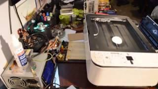 Récupération de pièces dans une imprimante/scanner