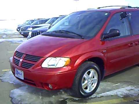 2007 Dodge Grand Caravan Sxt Special Edition Youtube