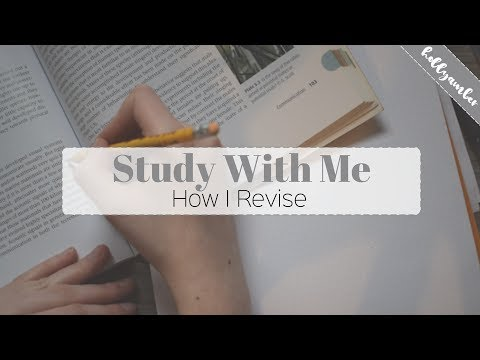Study With Me | How I Revise
