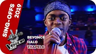 Beyoncé - Halo (Thapelo) | Sing-Offs | The Voice Kids 2019 | SAT.1