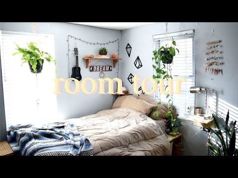 room tour 2017 boho, hippie, tumblr.