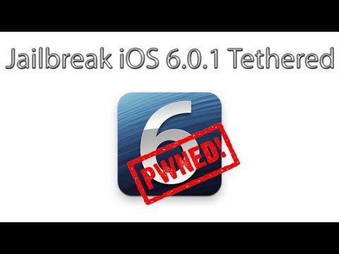 How To Jailbreak iOS 6.0.1 Using Redsn0w 0.9.15b3 (Tethered)