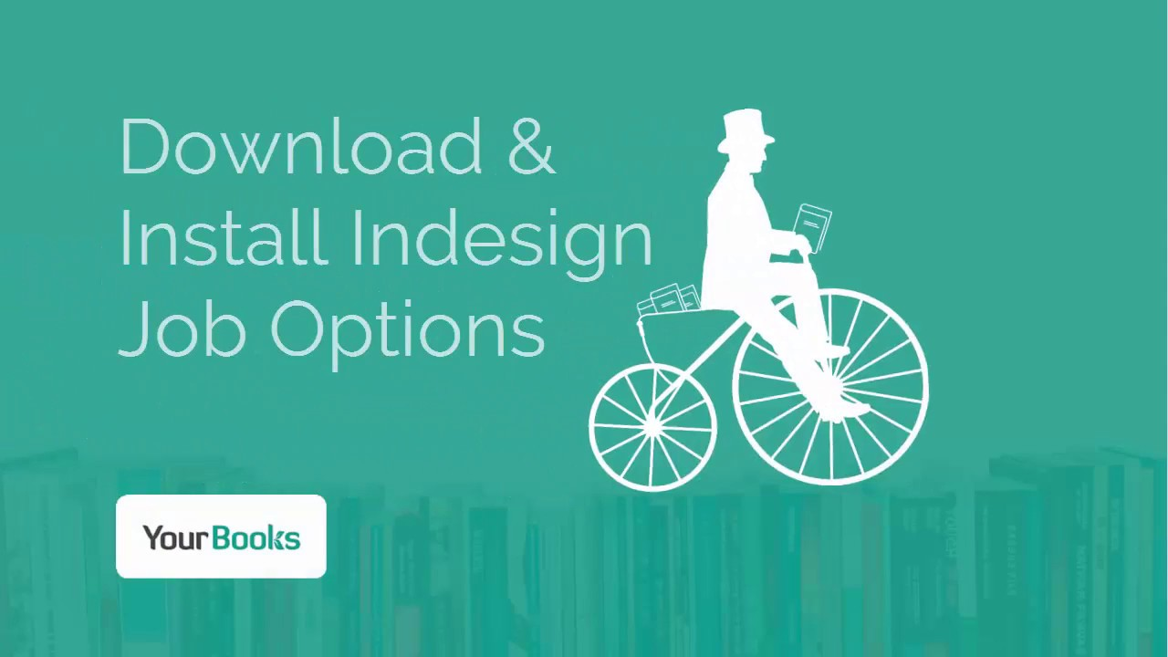 download and install job options for indesign