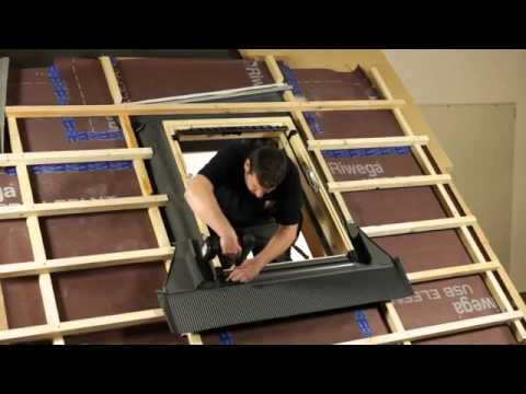 Come installare una finestra per tetti velux youtube youtube for Finestre velux per tetti