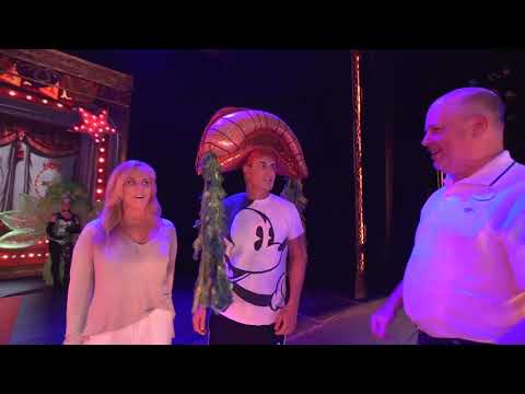 """Chad & Leslye """"Backstage with Beauty And The Beast"""" On Their Disney Cruise"""