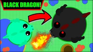 MOPE.IO BLACK DRAGON | 100000K SCORE BLACK DRAGON + ALL THE ANIMALS | MOPE.IO NEW UPDATE (Mope.io)