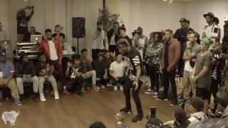 Bluprint (ATL) vs Skitzo (Sac, Vegas) Exhibition Battle   Ultimate Dancer 6 in ATL   YAK FILMS