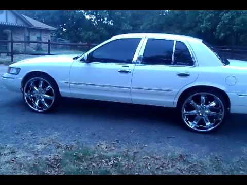 2000 Grand Marquis On 24s Clean Youtube