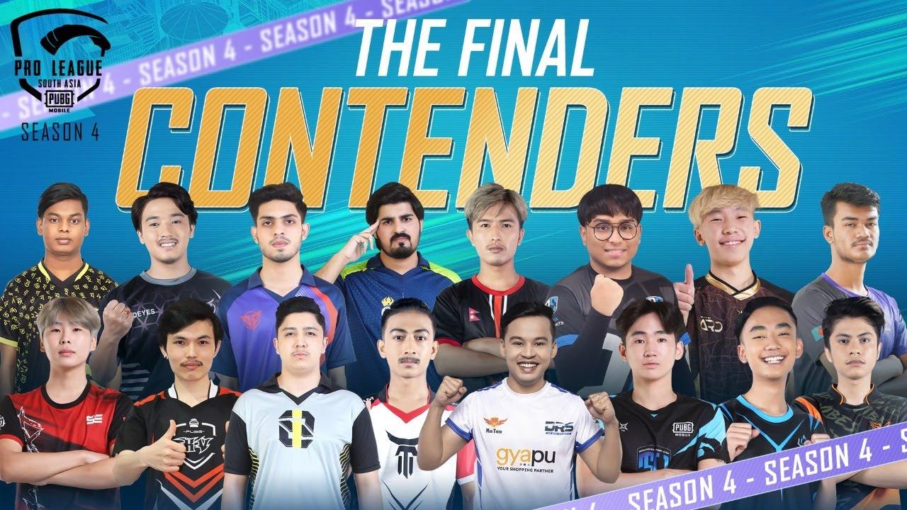 The Final Contenders   PUBG MOBILE Pro League South Asia Season 4