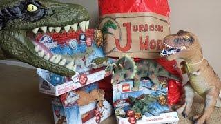 Jurassic World BIGGEST Surprise Dinosaur Attack Egg LEGO Pteranodon Unboxing Toys 侏罗纪世界 юрского мир