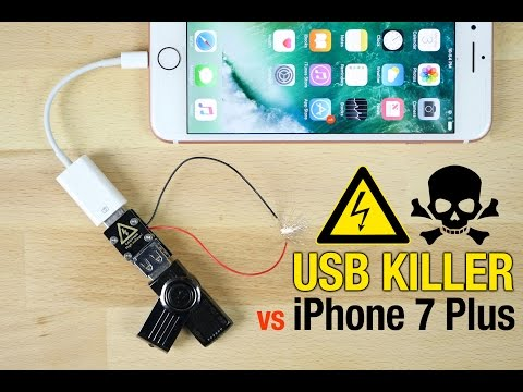 Thumbnail: USB Killer vs iPhone 7 Plus - Instant Death?