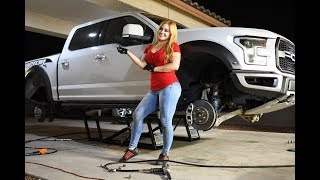 FORD RAPTOR vs QUICKJACK...CAN IT LIFT 6000lbs!!???