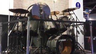 Sonor Nicko McBrain Drum kit.