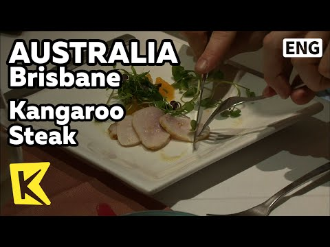 【K】Australia Travel-Brisbane[호주 여행-브리즈번]캥거루 스테이크/Kangaroo Steak/Restaurant/Crocodile/Food/Queensland