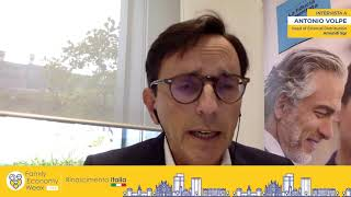 """Antonio Volpe: """"Alla FEW parleremo di investimenti sostenibili"""""""