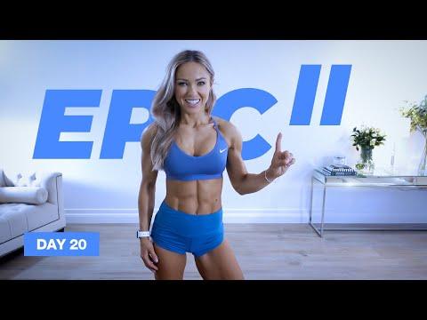 CALISTHENICS 1 Hour Full Body Workout / No Equipment | EPIC II - Day 20
