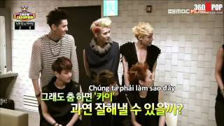 [Vietsub]130612 EXO - Interview & Wolf @ ShowChampion {EXOTeam}[360kpop]