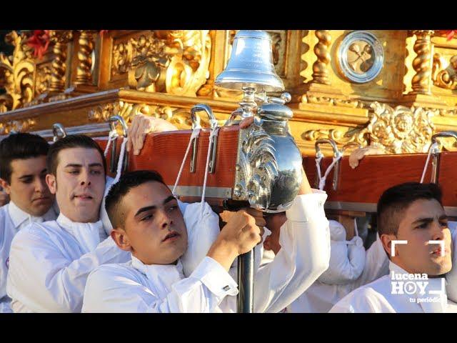 VÍDEO: LUCENA: Algunas imágenes de la procesión de San Cristóbal