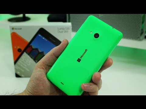 Microsoft Lumia 535 unboxing and first impressions (Dual SIM model)