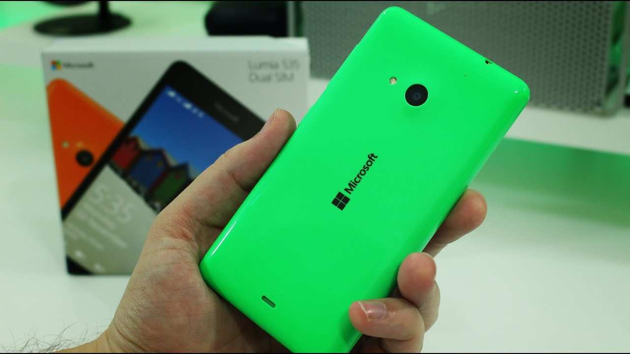 microsoft lumia 535 unboxing and first impressions dual sim model youtube